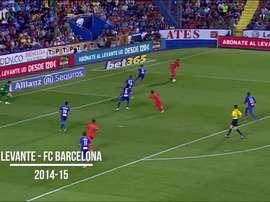 Rakitic chegou ao Barcelona em 2014 após atuar pelo Sevilla. DUGOUT