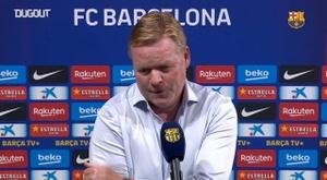 Koeman exalta versatilidade do elenco do Barcelona. DGOUT