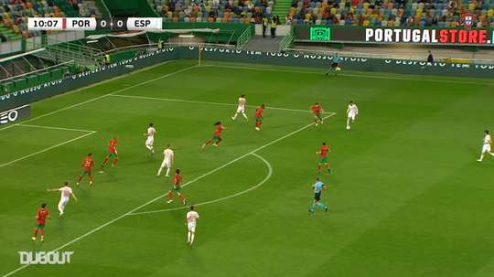 Portugal's friendly with Spain ended 0-0 in Lisbon, DUGOUT
