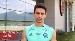 Rodrigo Caio fala sobre a fase do Flamengo. DUGOUT