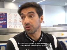 Abel Ferreira says farewell to PAOK. DUGOUT