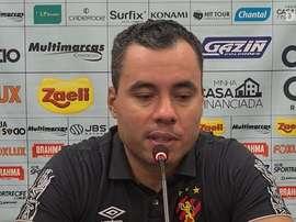 Jair Ventura concedeu entrevista após a derrota contra o Corinthians. DUGOUT