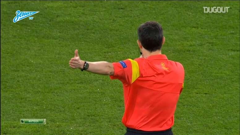 Zenit won in Dortmund, but it was not enough. DUGOUT