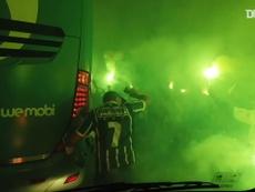 Bastidores da classificação do Palmeiras à final da Libertadores. DUGOUT