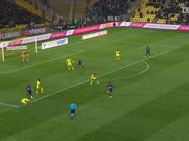 VIDEO: Martin Terrier's superb curling equalizer vs Nantes. DUGOUT