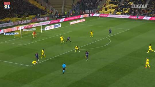 VIDEO: Martin Terrier's superb curling equalizer vs Nantes. DUGOUT