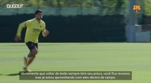 Luis Suárez está recuperado de problema no joelho. DUGOUT