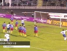 Top cinco gols da Itália contra a Moldávia. DUGOUT