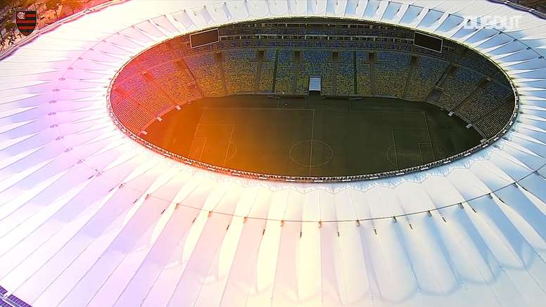 VIDÉO : Flamengo met le Maracana à disposition. Dugout