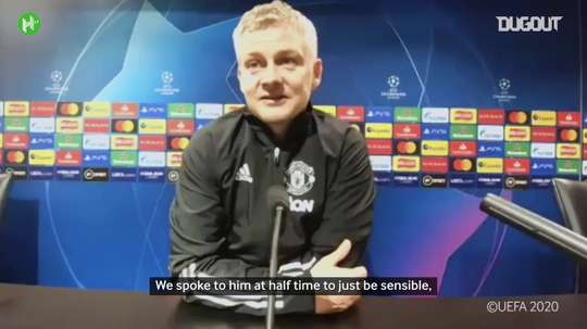 Solskjær thought about replacing Fred at half-time. DUGOUT