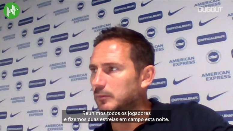 Lampard analisou vitória e exaltou a estreia oficial de Timo Werner. DUGOUT