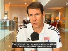 Rudi Garcia detalha estratégia do Lyon para vitória contra o City. DUGOUT