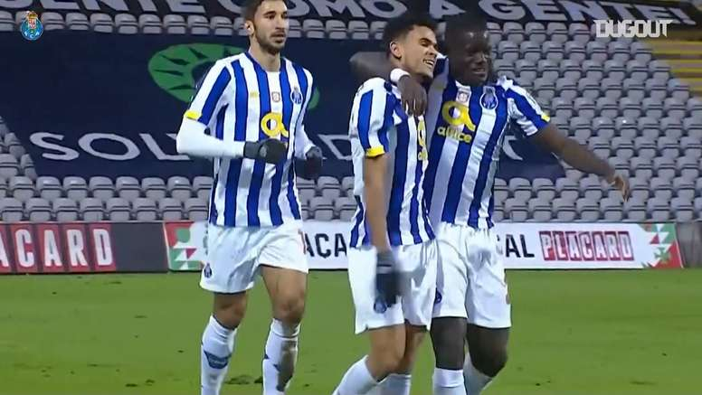 Porto got a hard fought victory at Nacional in the Portuguese cup. DUGOUT