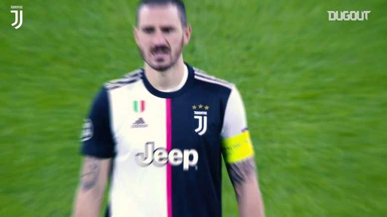 Bonucci brilhando pela Juventus em 2019/20. DUGOUT