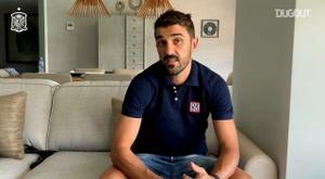 Villa recordó cómo fue aquél caótico partido de cuartos contra Paraguay. Dugout