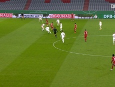 Choupo-Moting scores first FC Bayern goals. DUGOUT