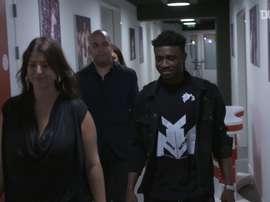 Mohammed Kudos, nascido em Gana, é reforço para o ataque do Ajax. DUGOUT