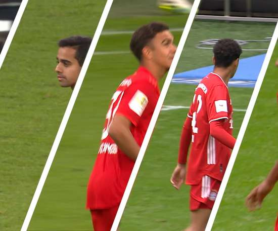 Bayern have played 5 of their academy graduates this season. DUGOUT