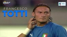 Melhores momentos de Totti na seleção italiana. DUGOUT