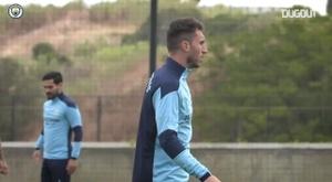El Manchester City ya se encuentra preparando los cuartos de final. DUGOUT