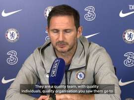 Lampard spoke ahead of the match. DUGOUT