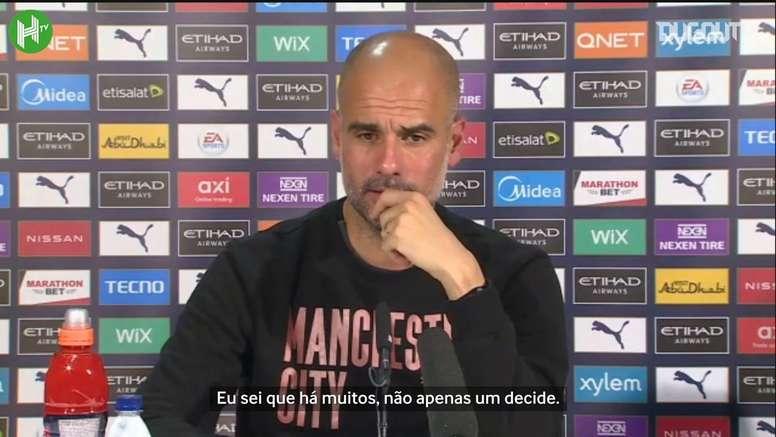 Guardiola comenta saída de Domènec Torrent do Flamengo. DUGOUT