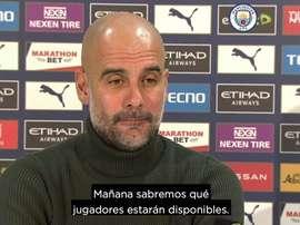 Guardiola valoró el progreso del Aston Villa. Captura/Dugout