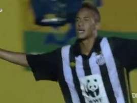 Le migliori giocate di Neymar nel Santos. Dugout
