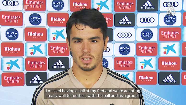Brahim Diaz admitted it will be strange playing matches without fans. DUGOUT