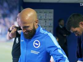 Bruno had a memorable spell at Brighton. DUGOUT