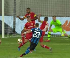 Lukaku and Barella sent Inter Milan into the Europa League semi-finals. DUGOUT