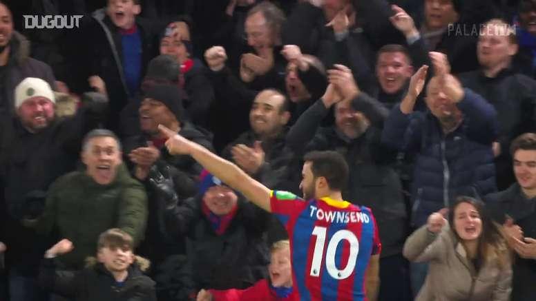 I migliori gol di Townsend in Premier. Dugout