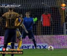Tigres ganó por un rotundo 3-0 en la final del Apertura. DUGOUT