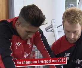 Firmino  soma 77 gols e 52 assistências pelo Liverpool. DUGOUT