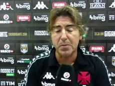 Ricardo Sá concedeu entrevista após empate do Vasco contra o São Paulo. DUGOUT