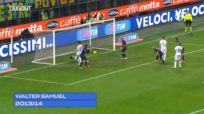 Inter's top 5 goals against Sassuolo. DUGOUT
