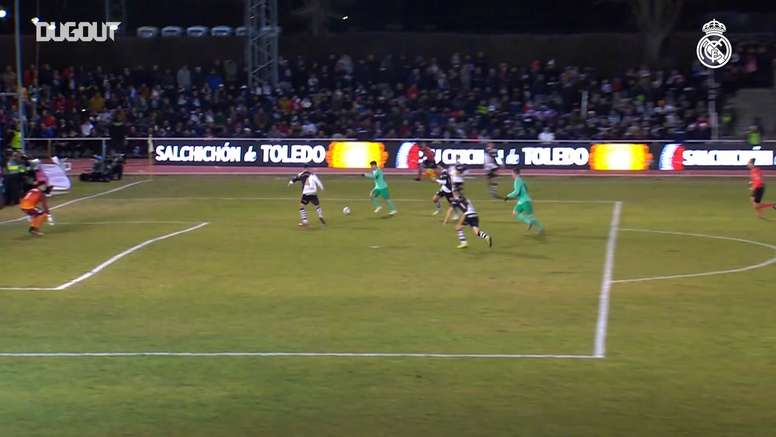 VÍDEO: así se las gasta Brahim en el Real Madrid. DUGOUT