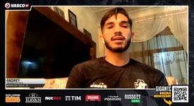 Andrey elogia fase de Cano no Vasco. DUGOUT