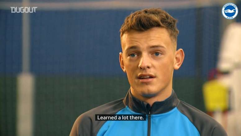 Ben White discusses his journey to the Brighton first-team. DUGOUT