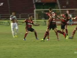 Paquetá scored for Flamengo. DUGOUT