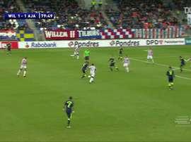 Le joli but de Vertonghen contre Willem II. DUGOUT