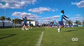 Goiás treina de olho na estreia do Brasileirão. DUGOUT