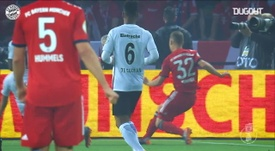 Robert Lewandowski has netted some very good goals v Frankfurt over the years. DUGOUT