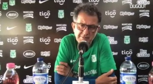 Osorio no ocultó que sueña con entrenar en Europa. DUGOUT