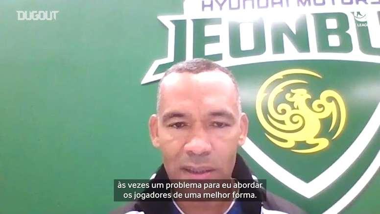 José Morais, técnico do Jeonbuk, concedeu entrevista exclusiva. DUGOUT