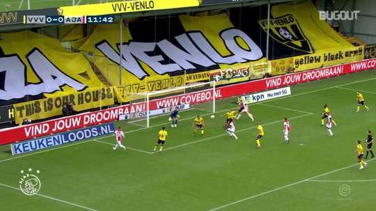 Veja os gols da goleada do Ajax por 13 a 0 sobre o Venlo. DUGOUT