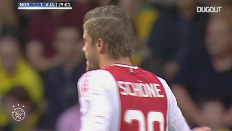 Ajax have scored some lovely goals v English sides in the past. DUGOUT