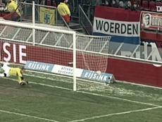 Les buts de Naples contre des clubs néerlandais. Dugout