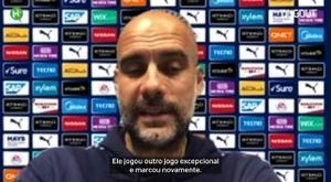Guardiola elogia David Silva após gol em vitória do City. DUGOUT