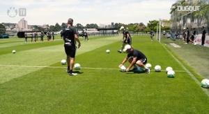 Mancini lança desafio para atacantes do Corinthians. DUGOUT